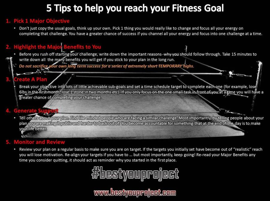 5 Tips to Achieving Goals